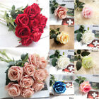 5 10 20 Pcs Artificial Velvet Rose Flower Wedding Decorative Flowers Home Decor