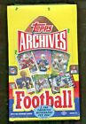 2013 Topps Archives Football Factory Sealed Hobby Box - 24 Packs - 2 Autographs