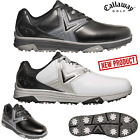 CALLAWAY GOLF SHOES CHEV COMFORT MENS WATERPROOF GOLF SHOES NEW WHITE OR BLACK