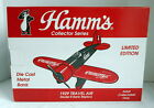 HAMMS BEER 1929 TRAVEL AIR DIECAST AIRPLANE 1993 SPEC CAST LIBERTY BANK 40005