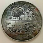 3D Death Star Wars Silver Coin Space Old Darth Vader Episode IX Disney Movie USA