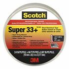 Scotch Super 33+ Vinyl Electrical Tape 6132 BA 10 3 4 in x 66 ft x 0007 in