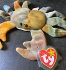 Ty Beanie Baby Claude The Crab Whisker Errors