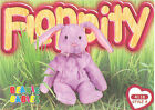 TY Beanie Babies BBOC Card - Series 3 Common - FLOPPITY the Bunny - NM/Mint