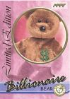 TY Beanie Babies BBOC Card - Series 3 Limited Edition - BILLIONAIRE the Bear