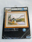 Dimensions NATIVE SOLITUDE Gallery Crewel Needlepoint Kit New 1999 Kit  1522