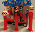 NEW PEZ Disney Incredibles 2 Movie Set of 3: Dash Violet Jack Candy Dispenser