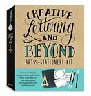 Creative Lettering and Beyond Art  Stationery Kit Includes a 40 page project b