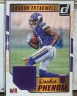 2016 Panini Donruss Laquon Treadwell Red Foil Rookie Patch No. 25 Vikings