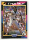 1992 Kenner Starting Lineup Baseball Card - Chuck Finley - California Angels