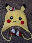 Pokemon Pikachu Pokeball Laplander Knitted Beanie Hat One Size