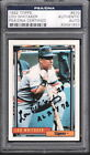 LOU WHITAKER TIGERS AL ROY 1978 HAND SIGNED CARD PSA DNA AUTO 1992 TOPPS #570