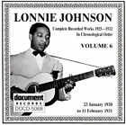 Complete Recorded Works (1925-1932), Vol. 6: 1930-1931 by Lonnie Johnson (Docume