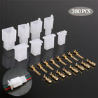 380Pcs Car Electrical Wire Connectors Pin Header Motorcycle Bullet Terminal Set