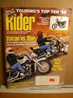 Rider Magazine June 1996 Vulcan vs Star, MuZ Saxon Tour 500, Touring's Top Ten 9