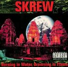 Burning in Water, Drowning In Flame by Skrew (CD, Metal Blade) FREE SHIPPING