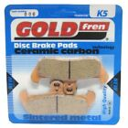 Front Disc Brake Pads for Moto Morini 350 Excalibur 1990 344cc  By GOLDfren
