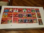 Dragons Lair Sticker And Rub Off Game Lot Of 24