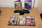 Xbox 360 Kinect Camera with 5 Games UFC Trainer Biggest Loser Zumba