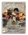 Floyd Mayweather Jr Signed vs. Pacquiao Official Fight Program Autograph JSA COA