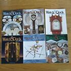 NAWCC 2010 CLOCK & WATCH BULLETINS 6 Vol Lighthouse, Colonial Watchmakers, Banjo