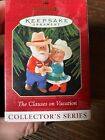 Hallmark Keepsake Ornament The Clauses On Vacation 1999