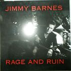 JIMMY BARNES - RAGE AND RUIN - OZ PROMO ? CD - G/F SLEEVE WITH LAUNCH INVITE