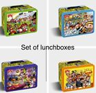 2020 GARBAGE PAIL KIDS LATE TO SCHOOL COLLECTOR ED EMPTY LUNCH BOX SET OF 4 4