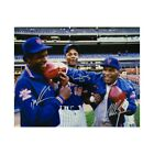 Mike Tyson, Doc Gooden, Darryl Strawberry Autographed 16x20 Photo - JSA COA