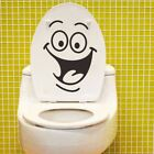 Cartoon Smile Wall Toilet Stickers All match Style Mural Waterproof Great