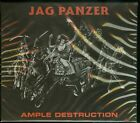 Jag Panzer Ample Destruction CD new High Roller Records 2019 reissue slipcase