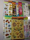 STICKETY DOO DA STICKERS MIXED LOT OF 7 PACKS NEW SOME VINTAGE CUTE