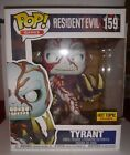 Funko Pop Resident Evil Tyrant #159 6 inch Hot Topic Exclusive.pop is mint