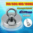 700kg Super Strong Pot Fishing Salvage Magnet Hook Hunting Metal Permanent Power