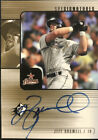 2000 UD SPx Jeff Bagwell Auto Houston Astros Autograph