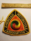 AMA AMERICAN MOTORCYCLE ASSOCIATION Patch NEVER USED MINT COND