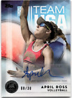 2016 Topps US Olympic and Paralympic Team Hopefuls Trading Cards 57