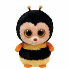 TY Beanie Boos - STING the Bumble Bee (Solid Eye Color) (6 inch) - MWMTs Boo Toy