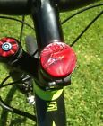 Bike Bling Cannondale Lefty custom head tube first aid cargo tube