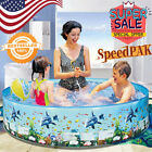 Childs playing outdoor swimming pool plastic outdoor swimming pool without tube