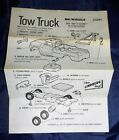 Vtg 1971 The Lindberg Line Big WheelsTow Truck  #D281  Instruction Sheet Only