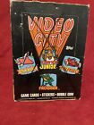 1983 Topps Arcade Video City Trading Cards & Stickers Unopened Wax Box From Case
