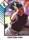 1993 Kenner Starting Lineup Extended Cards #2A Carlton Fisk