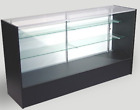 Retail Glass Display Case Full Vision 6ft Showcase - 4 Color Options