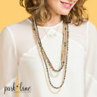 Park Lane BRULEE Beaded Necklace Multi Colored Chains Stunning Reg 134