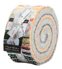 Moda Fine and Sunny Jelly Roll 25 Fabric Quilting Strips 18170JR J13