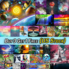 US Full Drill 5D Landscape Diamond Painting DIY Embroidery Cross Stitch Kit Home