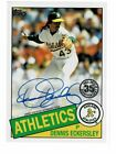 2020 Topps Series 1 Dennis Eckersley AUTO on card (JH)