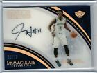 Jrue Holiday 2016-17 Panini Immaculate Marks of Greatness Autograph Auto # 75