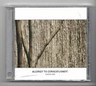(JP130) Allergy To Consciousness, Evidence One, 14 track various- 2011 Sealed CD